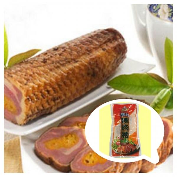 蔗燻金棗鴨肉捲(大) 1